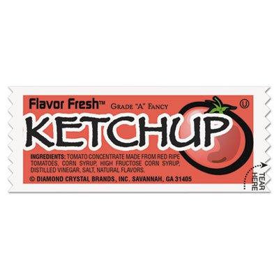 Diamond Crystal Brands Inc Mkl 71004 Ketchup Pouch 9Gm Poly (200) MKL 71004
