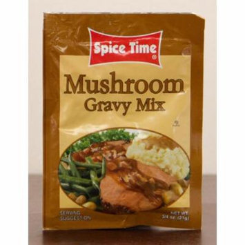 Pack of 24 Spice Time Mushroom Gravy Seasoning Mix .75 oz. #IO201