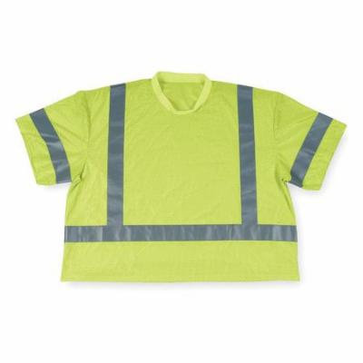 CONDOR T-Shirt,Polyester Mesh,Lime,XL 2RE41