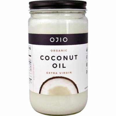 Ojio Organic Coconut Oil Extra Virgin -- 32 oz pack of 3