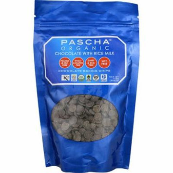 Pascha Organic Chocolate Baking Chips with Rice Milk -- 7 oz pack of 1