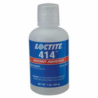 Instant Adhesive,1 lb. Bottle,Clear LOCTITE 233803