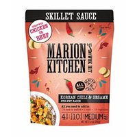 Korean Chili & Sesame Skillet Stir-Fry Sauce by Marion's Kitchen, Bulk 8 Pack, Healthy, All Natural, Gluten Free
