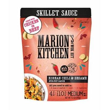 Korean Chili & Sesame Skillet Stir-Fry Sauce by Marion's Kitchen, Bulk 8 Pack, Healthy, All Natural, Gluten Free