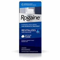 5 Pack Men's Rogaine 5% minoxidil topical Hair Regrowth Treatment 1 Month Each