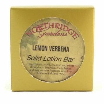 Northridge Gardens Lemon Verbena Solid Lotion Bar 1oz