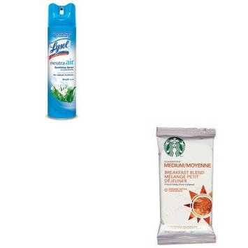 KITRAC76938EASBK11018193 - Value Kit - Starbucks Coffee (SBK11018193) and Neutra Air Fresh Scent (RAC76938EA)