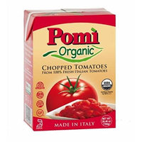 Pomì Organic Chopped Tomatoes 26.46 oz. (Pack of 6)