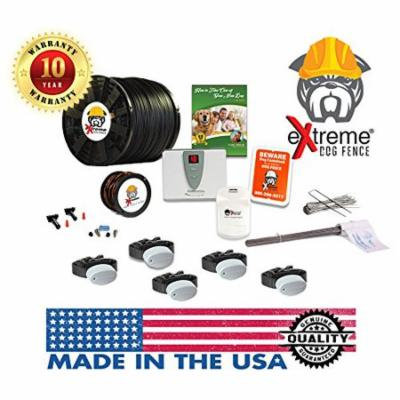 Perimeter Technologies Ultimate Electric Dog Fence (5 Dogs, Pro-Grade 5000Ft)