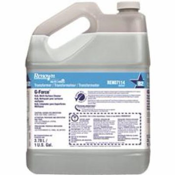 RENOWN POWERED BY BUTCHERS G-FORCE H2O2 MULTI-SURFACE CLEANER, TRANSFORMER, GALLON