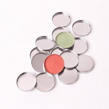 Empty Metal Iron Tin Pans Round 26.5 mm/diameter Fit Magnetic Makeup Eye Shadow Palette (100)