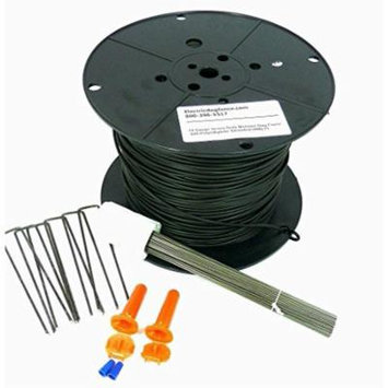 14 AWG Professional Grade 500ft Dog Fence Wire Installation Kit - Compatible with All Brands