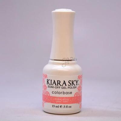 Kiara Sky Gel Polish Koral Kicks G499