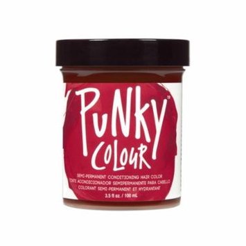 (3 Pack) JEROME RUSSELL Punky Color Semi-Permanent Conditioning Hair Color - Vermillion Red