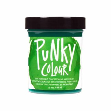 (6 Pack) JEROME RUSSELL Punky Color Semi-Permanent Conditioning Hair Color - Spring Green