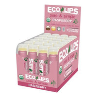 Eco Lips 231861 Pure And Simple Raspberry Lip Balm