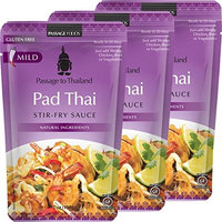 Passage Foods To Thailand Stir Fry Sauce, Pad Thai, 7 Ounce, 3 Count [Pad Thai]