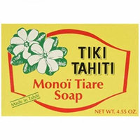 Monoi Tiare Tahiti (Gardenia) Bar Soap 4.55 Ounces