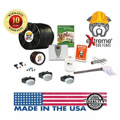 Perimeter Technologies Ultimate Electric Dog Fence (3 Dogs, Pro-Grade 500Ft)