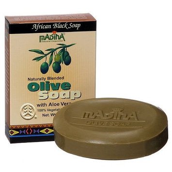 Madina Olive Soap with Aloe Vera with Vegetable Base 3.5 Ozx6