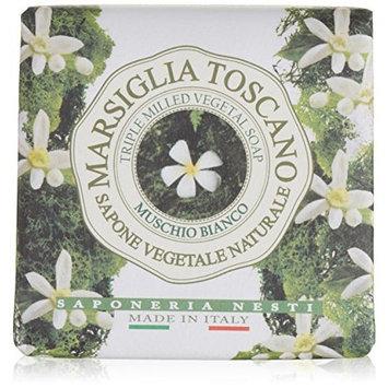 Nesti Dante Marsiglia Toscano Triple Milled Vegetal Soap, Muschio Bianco, 7 Ounce