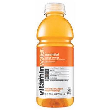 Glaceau Vitamin Water 12 - 20Floz Bottles (essential orange-orange)