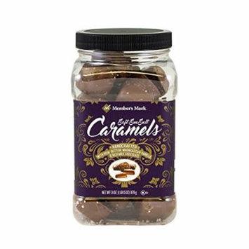 Milk Chocolate Sea Salt Caramels Members Mark 31oz