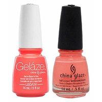 China Glaze Gelaze Tips and Toes Nail Polish, Flip Flop Fantasy, 2 Count