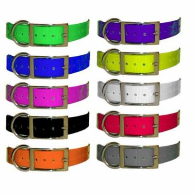 1 Inch Universal Strap - Neon Yellow - E-collar or GPS Collar Replacement Strap