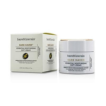 Bare Haven Essential Moisturizing Soft Cream - Normal To Dry Skin Types 1.7oz