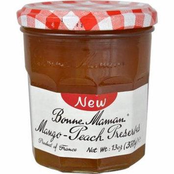 Bonne Maman Mango-Peach Preserves -- 13 oz pack of 12