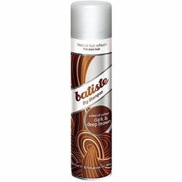 Batiste Instant Hair Refresh Dry Shampoo Plus Divine Dark 6.73 Oz