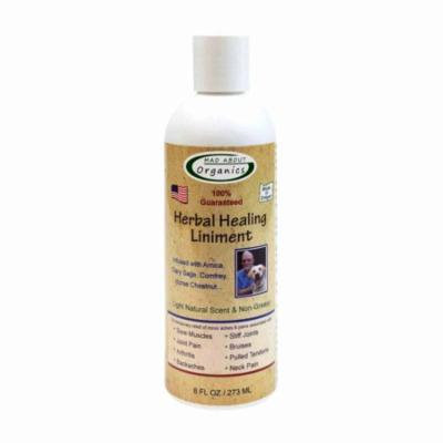 Mad About Organics All Natural Pain-Relieving Herbal Healing Liniment for all Pets