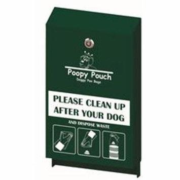 Poopy Pouch Pet Waste Header Bag Dispenser, Hunter Green