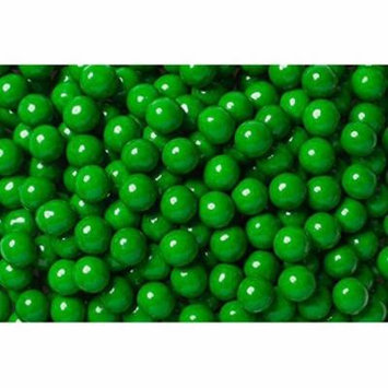 FirstChoiceCandy Sixlets Milk Chocolate Balls (Dark Green, 5 LB)