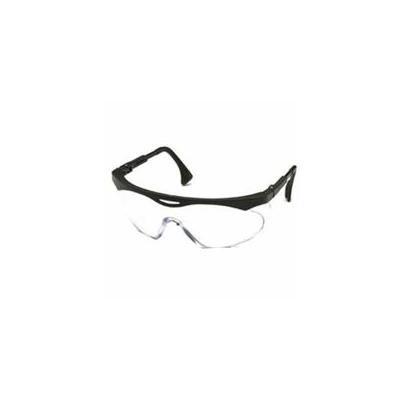 Skyper Eyewear, Clear Polycarbonate Hard Coat Lenses, Black Frame, Sold As 1 Each
