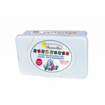 Baby Wipe Dawn Mist® Tub Aloe Unscented - Item Number BWU4340 - 80 Each / Pack -
