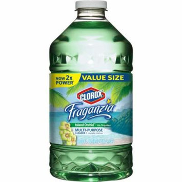Clorox Fraganzia Multi-Purpose Cleaner, Island Orchid, 100 oz