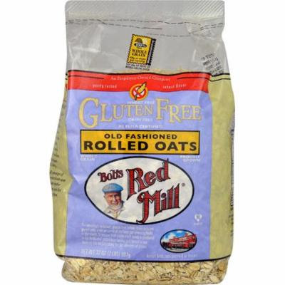 Bob's Red Mill Gluten Free Old Fashioned Rolled Oats -- 32 oz pack of 2