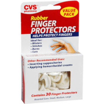 CVS Health Rubber Finger Protectors, 30CT