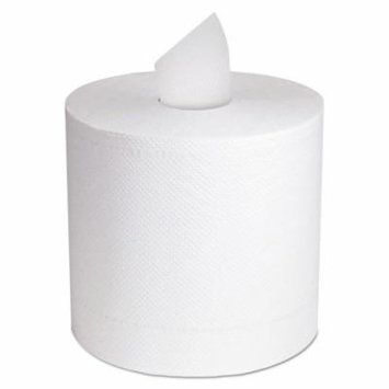 Cascades North River Center-Pull Towel, 2-Ply, White, 11 x 7 5/16, 600/Roll, 6 Roll/Ctn