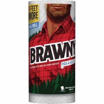 BRAWNY TOWEL TWL 1L WH PAS
