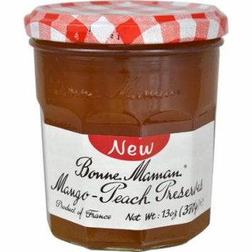 Bonne Maman Mango-Peach Preserves -- 13 oz pack of 6