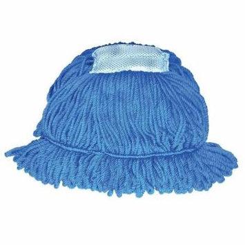 Tough Guy 6DML9 Medium Blue Microfiber Looped-End Wet Mop