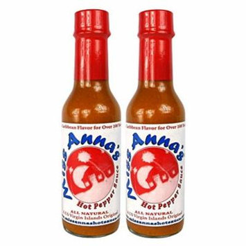 Miss Anna's Hot Pepper Sauce - 2 PACK