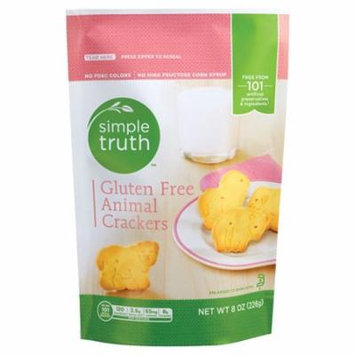 Simple Truth® Animal Crackers Gluten Free -- 8 oz pack of 4