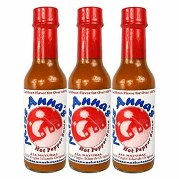 Miss Anna's Hot Pepper Sauce - 3 PACK