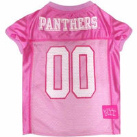 Pets First College Pitt Panthers Pet Pink Jersey, 4 Sizes Available