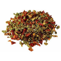 Dried Red and Green Bell Peppers Mix by It's Delish, 2 lbs