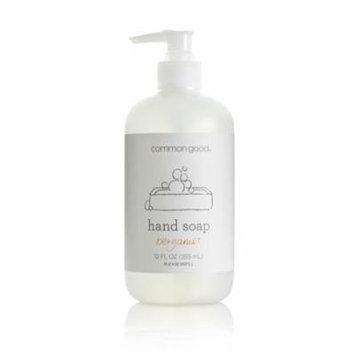 Common Good Hand Soap, Bergamot, 12 Fl Oz